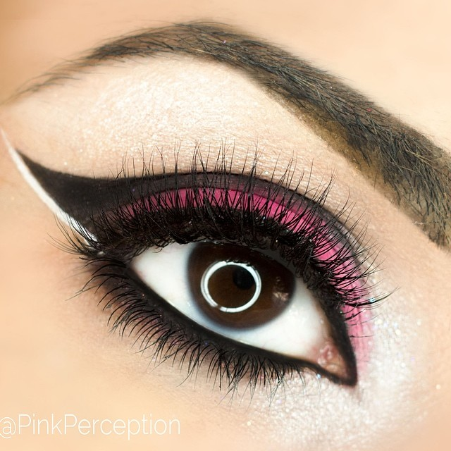 pinkperception sensual lashes makeup lovelove lashes