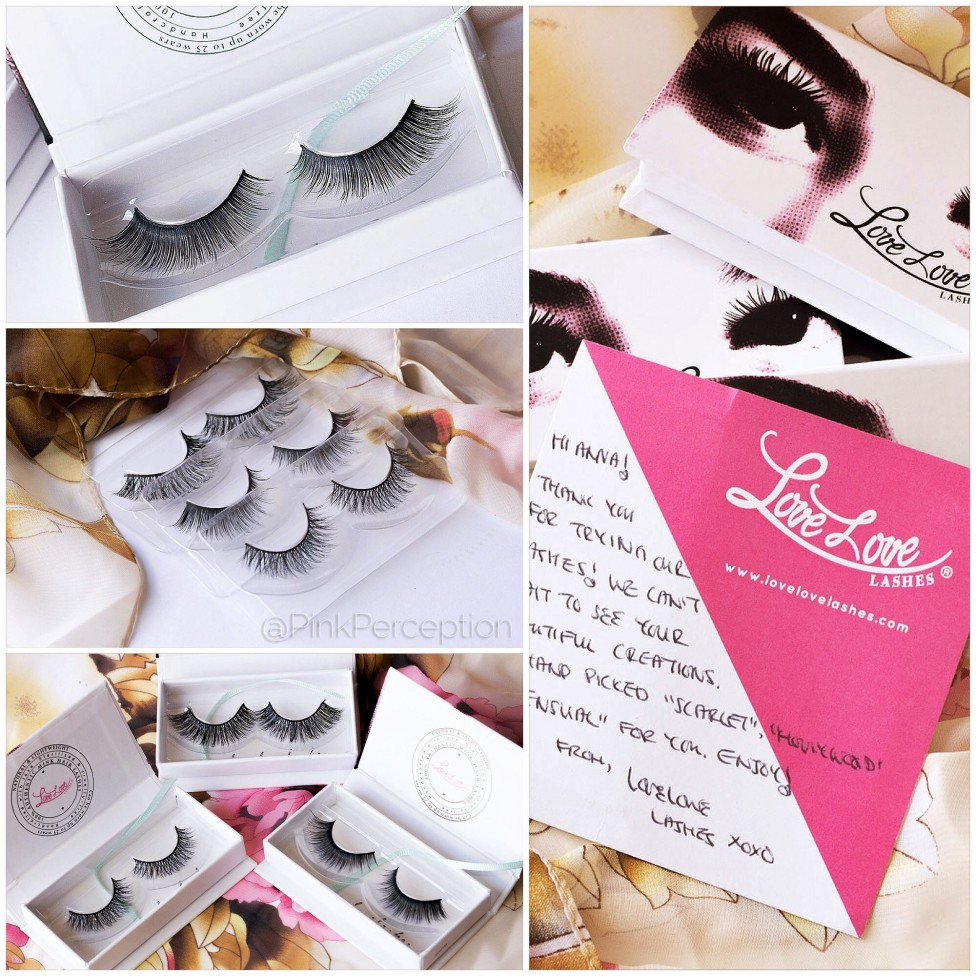 lovelove lashes pinkperception false lashes mink lashes