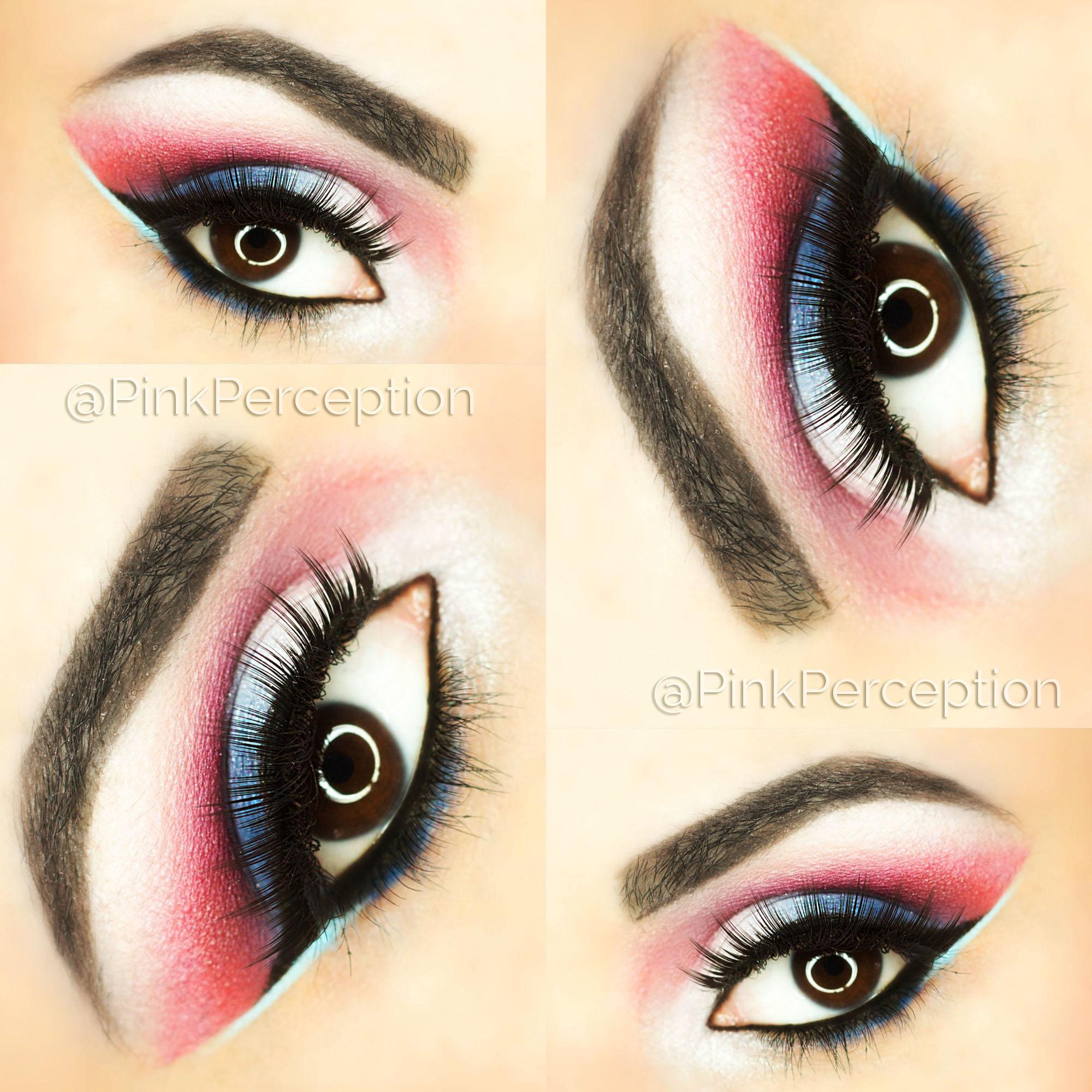 Eyemakeup Inspiration Pink Perception