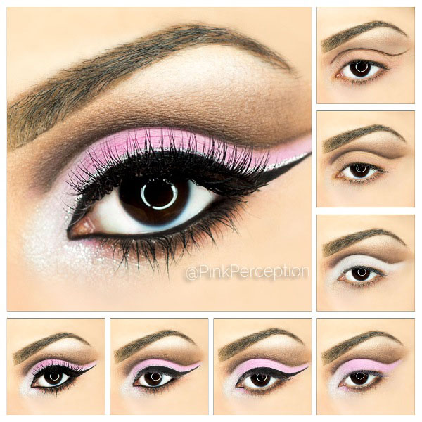 cut crease tutorial pinkperception