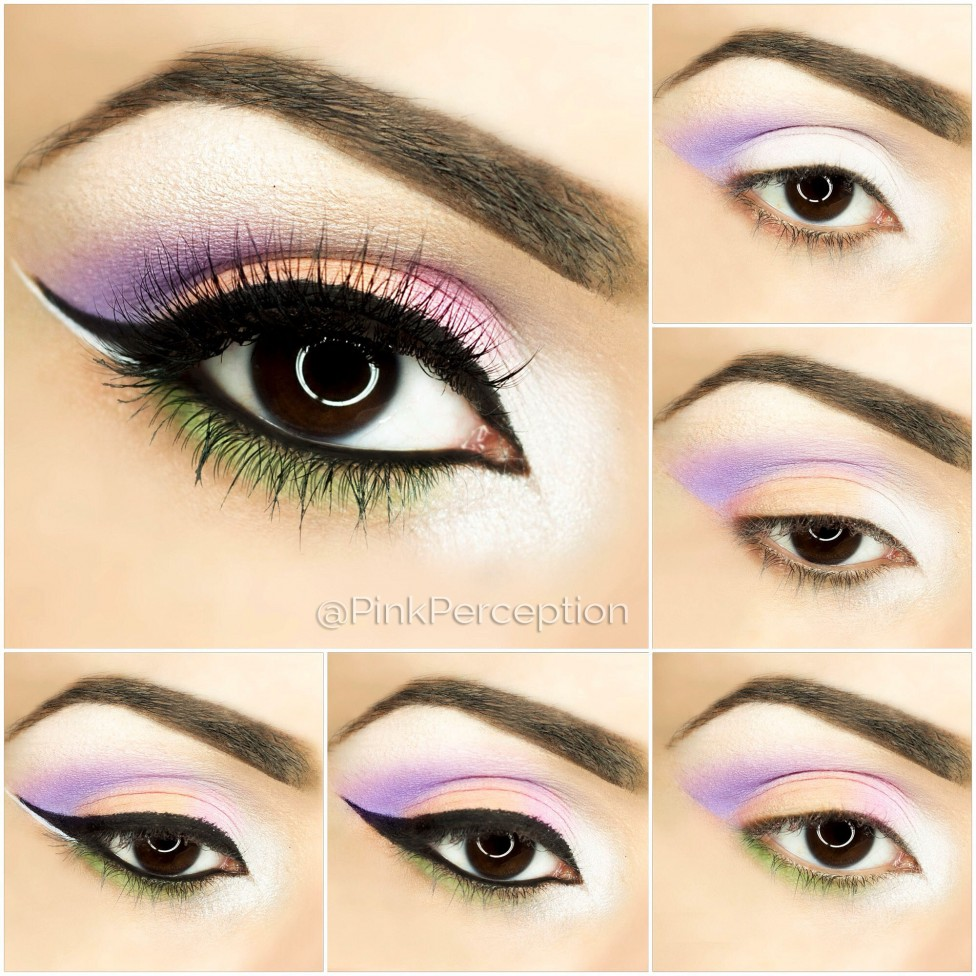 eyeshadow step by step