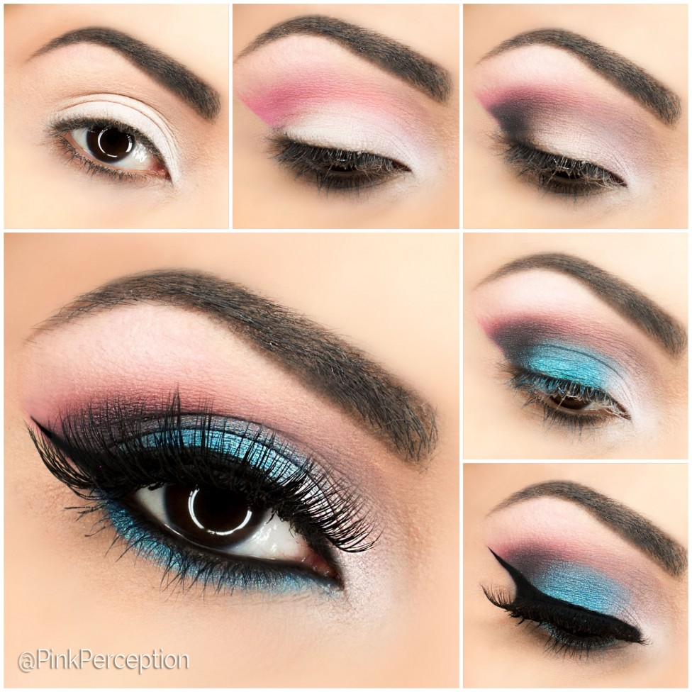 blue eyemakeup tutorial