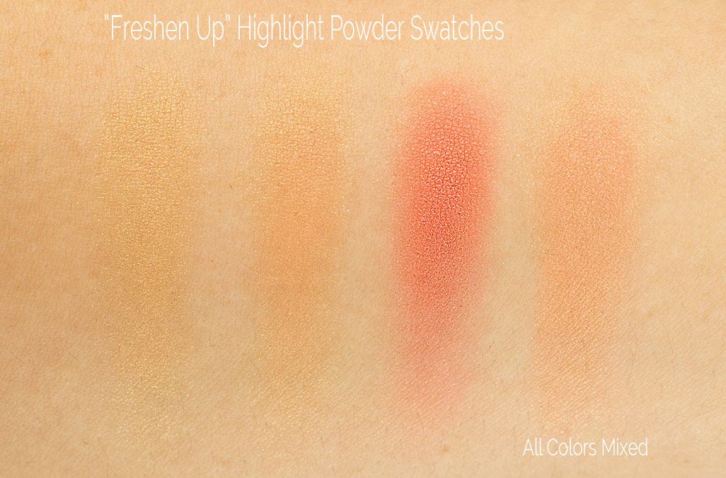 wash and dry mac freshen up swatch