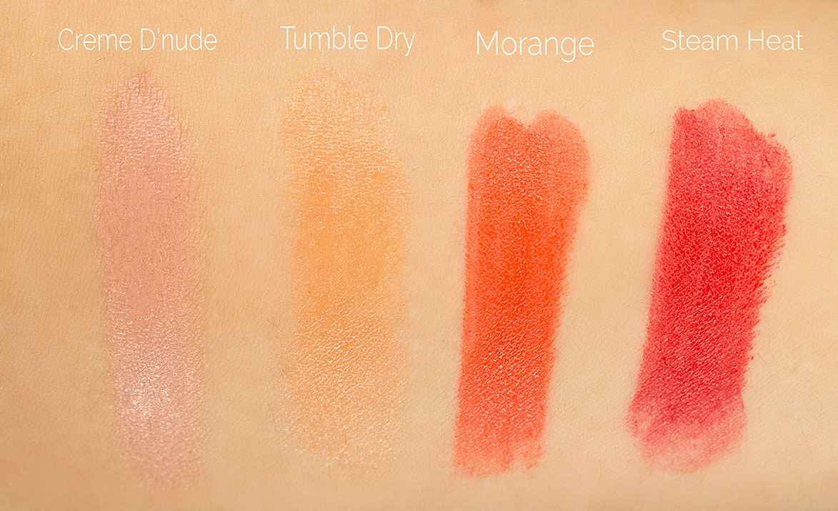wash_and_dry_mac_lipstick_swatches